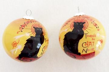 The black cat, souvenir from Paris
