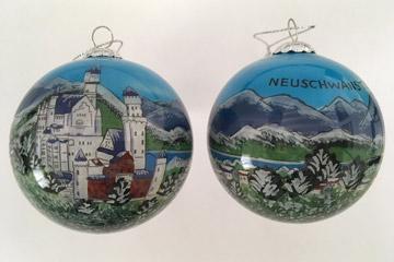 Germany Neuschwanstein in winter