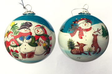 The snowmen family
